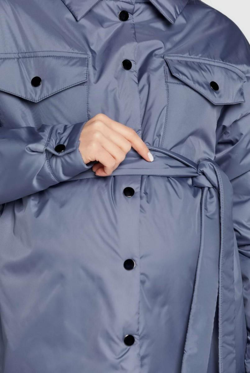 Демісезонна куртка-сорочка Alabama денім для вагітних
