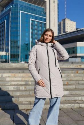 Зимняя слингокуртка 3в1 для беременных Lullababe Congo LB01CN140 бежевый