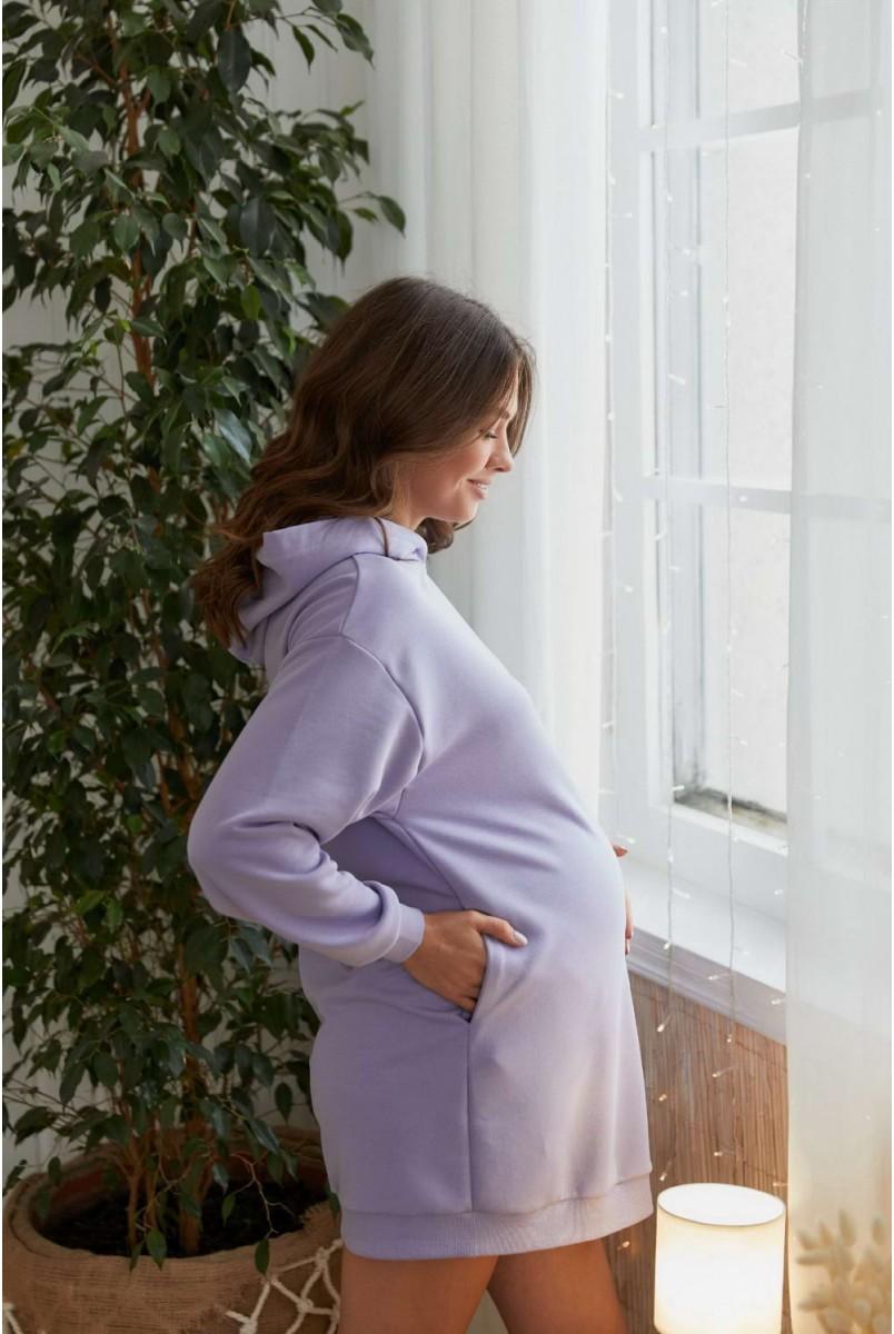 Сукня Seattle Бузковий для вагітних