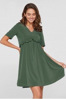 Платье San-Paulu для беременных Оливковый