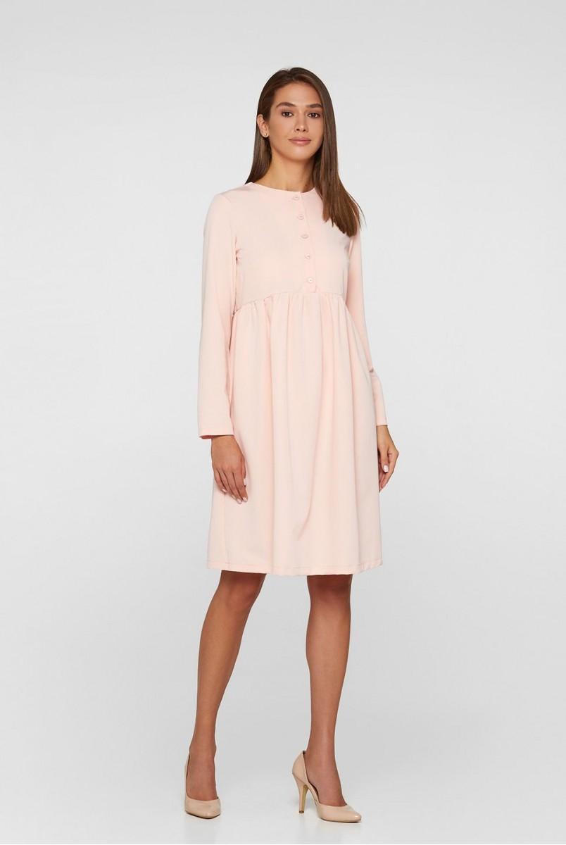 Платье для беременных и кормления Lullababe Beirut LB05BI123 пудровый