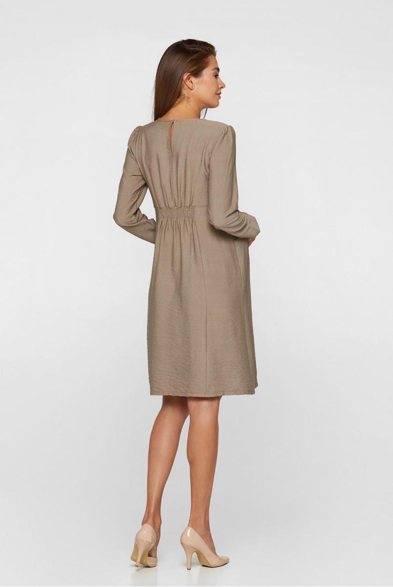 Платье для беременных и кормления Lullababe Corfu LB05CR140 бежевый