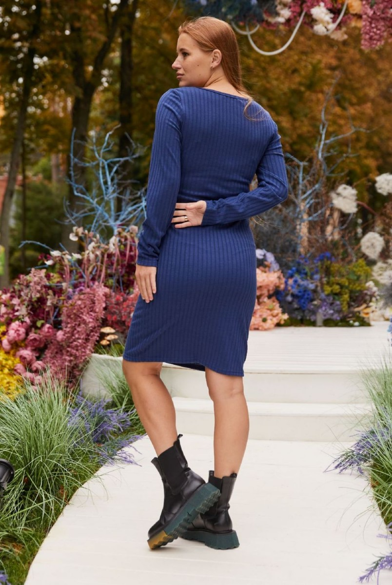 Платье для беременных и кормления Lullababe Fiji LB05FJ127 синий