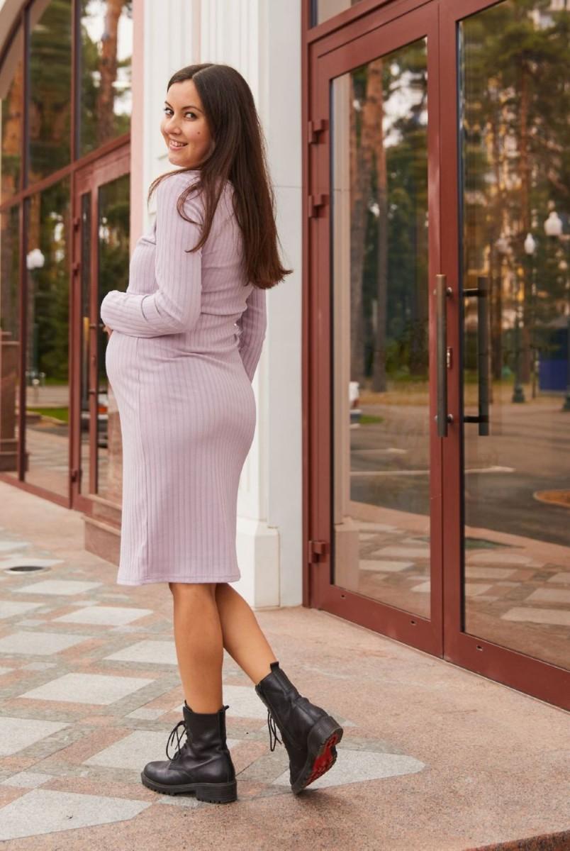 Платье для беременных и кормления Lullababe Fiji LB05FJ123 пудровый