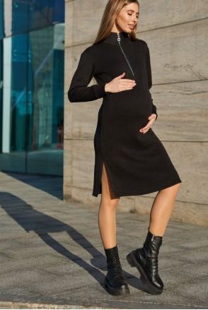 Платье для беременных и кормления Lullababe Virginia LB05VG136 черный