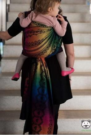 Слинг-шарф LUNA DREAM Diamond Lace Rainbow Chic