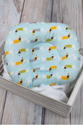 """Детская подушка для новорожденных """"Такса"""""""