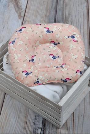 """Детская подушка для новорожденных """"Райские птички"""""""