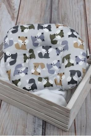 """Детская подушка для новорожденных """"Лисичка"""""""