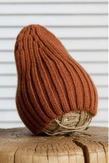В'язана шапочка Alen цегляна