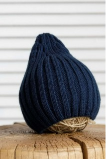 В'язана шапочка Alen синя