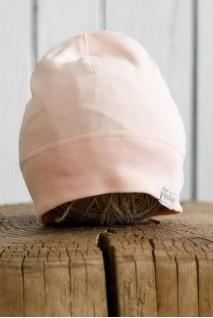Трикотажна шапка Klin персикова