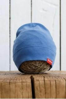 Трикотажна шапка Klin синя