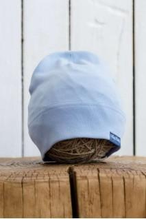 Трикотажна шапка Klin блакитна