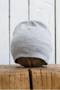 Трикотажна шапка Klin сірий меланж