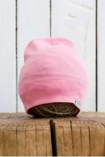 Трикотажна шапка Klin рожева