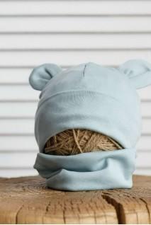 Набір шапка з манишкою Bruin сизий
