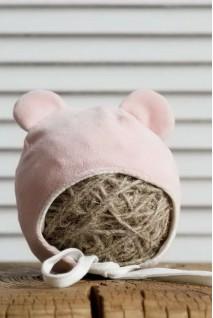 Велюрова шапка tessera рожева