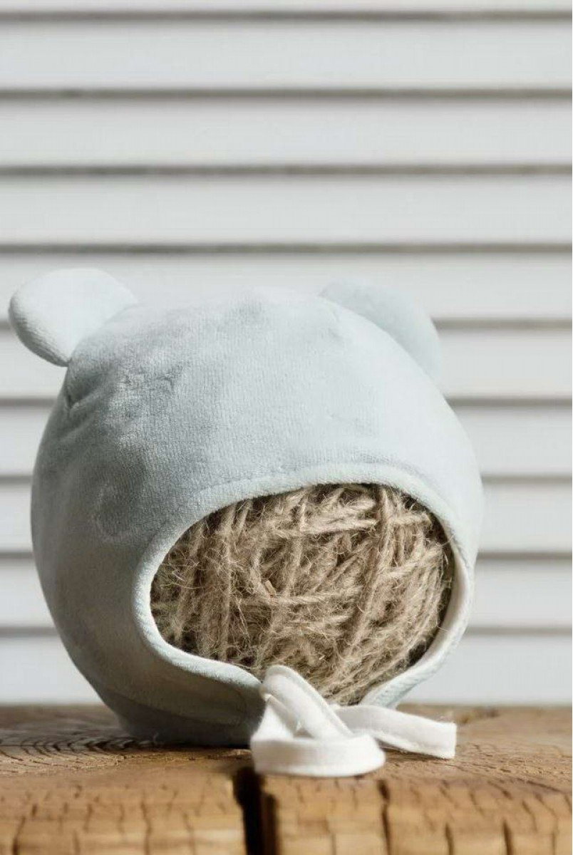 Велюрова шапка Tessera сиза
