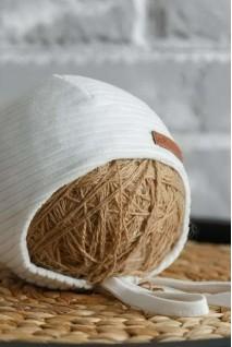 Велюрова шапка Velvet молочна