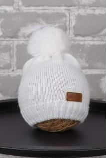В'язана шапочка Lucky білий