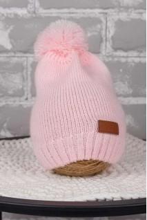 В'язана шапочка Lucky рожевий