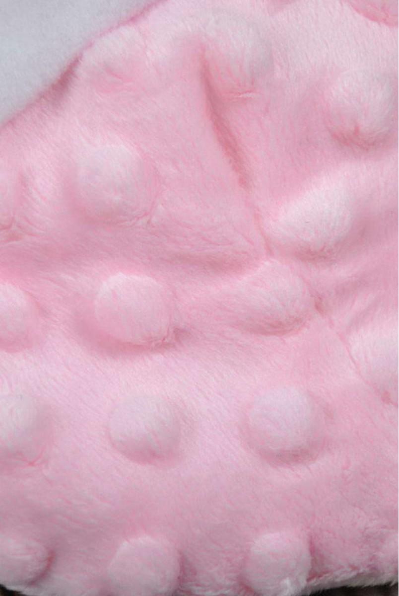 Плюшева шапочка Newborn рожева
