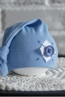 Шапка Knot блакитна