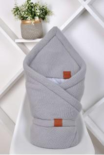 Демисезонный конверт-одеяло на выписку  Familia серый