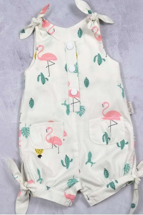 Детский ромпер Magbaby Кайли Фламинго
