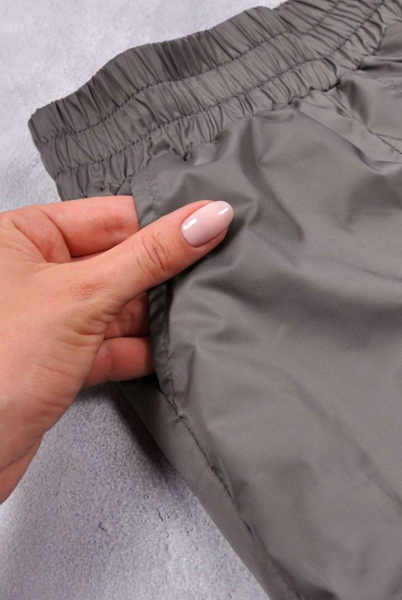 Костюм з плащової тканини Zooty сірий