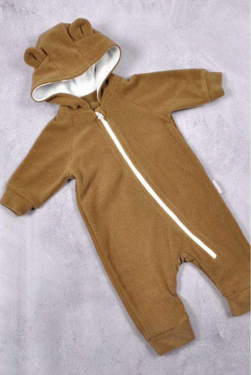 Флісовий чоловічок Bear коричневий