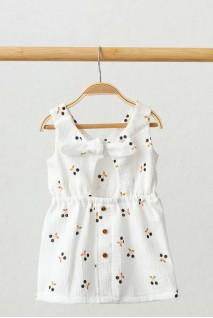 Муслінова сукня mia Вишеньки (0-2 роки)