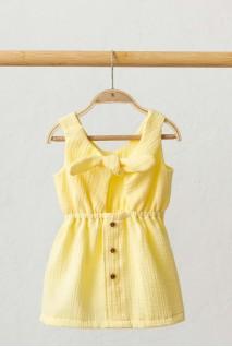 Муслінова сукня Mia лимонна (3 роки)