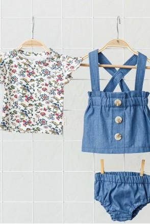 Набор для девочки Peri джинс (0-2 года)