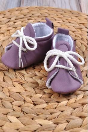 Пинетки хлопковые Фиолетовые
