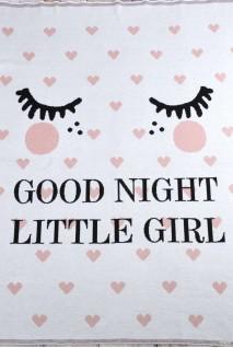 "Плед ""Good night"" розовый"