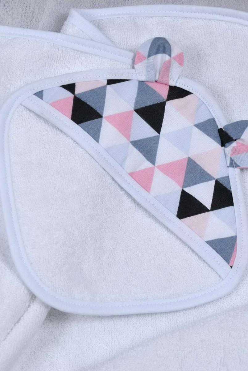 Комплект для купання малюка Delta рожевий