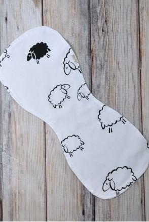 Полотенце для гигиены новорожденного Овечки