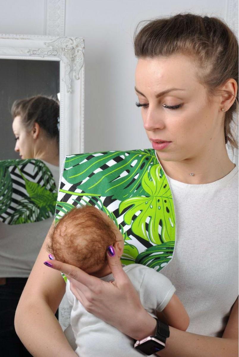Рушник для гігієни новонародженого папороть