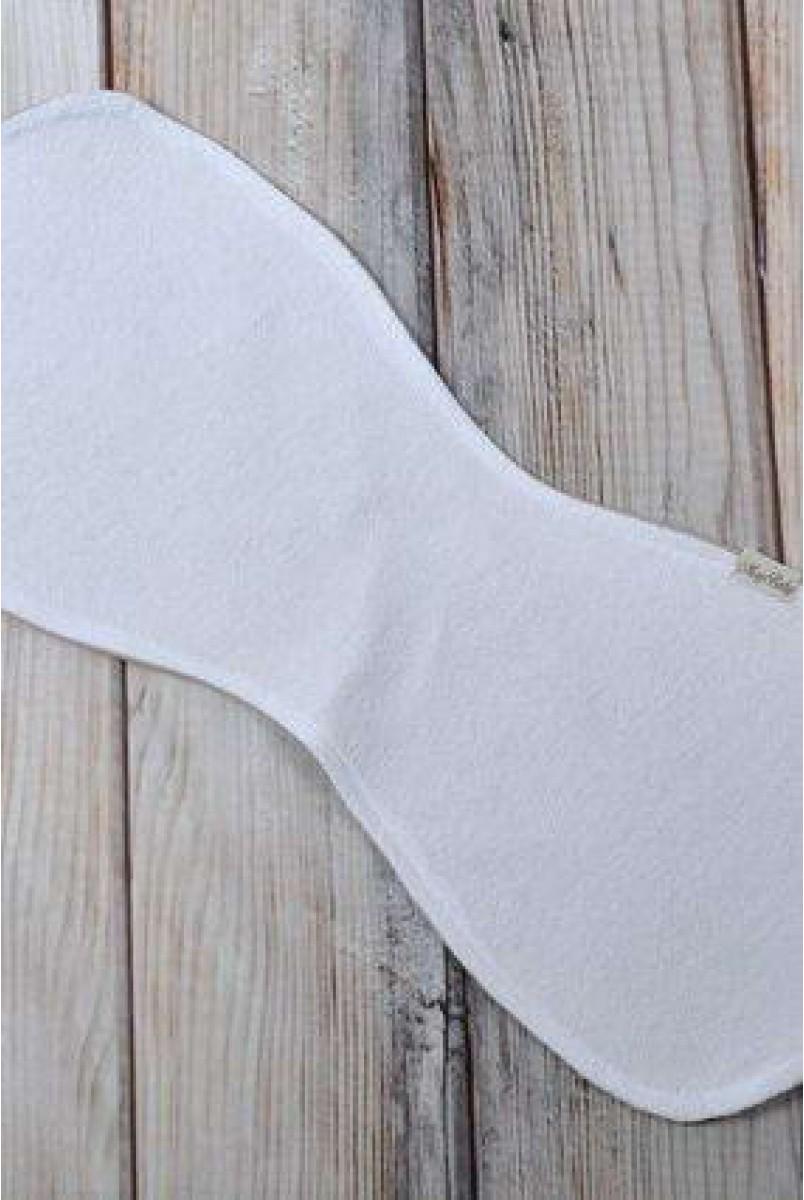 Полотенце для гигиены новорожденного Плюсики