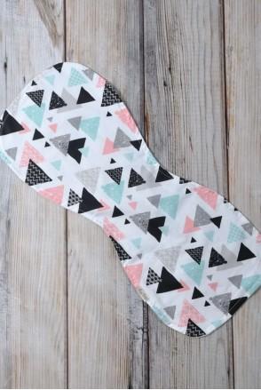 Полотенце для гигиены новорожденного Цветные треугольники
