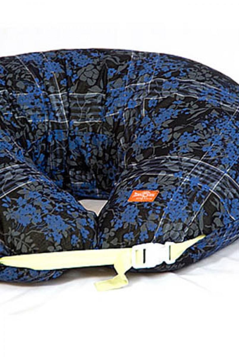 """Подушка для годування Підкова """"Літня ніч"""" європейська тканина"""