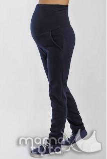 Теплые спортивные брюки ВИКТОРИ темно-синий 178.1 для беременных