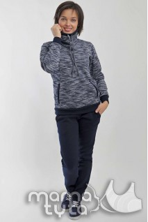 Спортивний костюм ВІКТОРІ Синя затока 178.3 для вагітних і годування