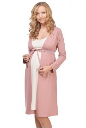 Халат Mellow Rose арт. 25303 для беременных и кормления