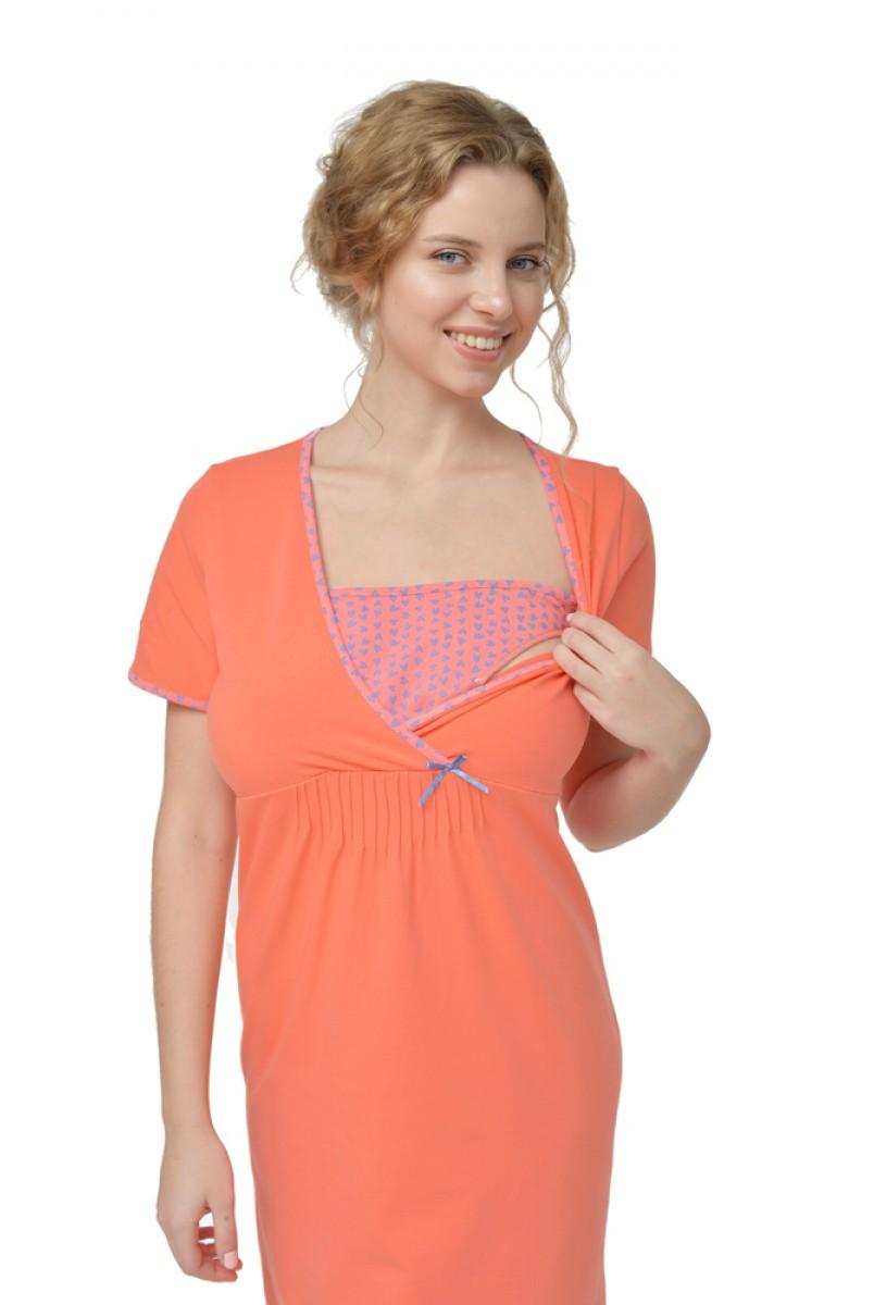 Ночная рубашка Harmony арт. 24160 для беременных и кормящих