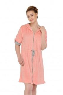 Халат Ice-Cream арт. 25311 розовый для беременных и кормления