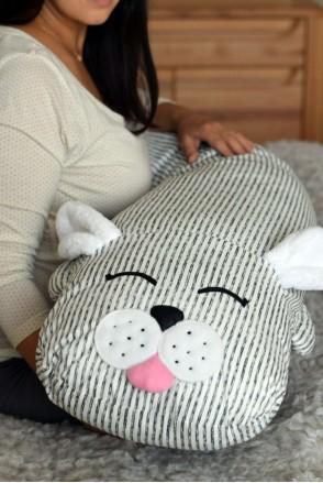 Подушка-комфортер для беременных и кормления Зайчик