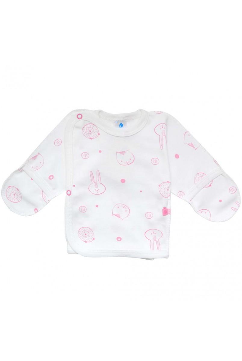 Сорочечка арт. 00102 молочний/рожевий